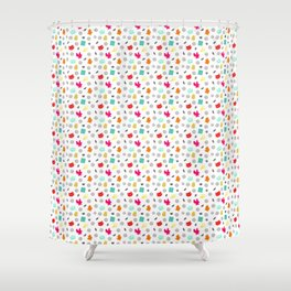 Volley Allstars! Shower Curtain