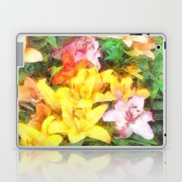 Lilies Love and Light Laptop & iPad Skin