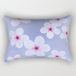 Cherry Blossoms - Painting Rectangular Pillow