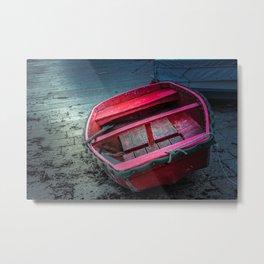 Barca al porticciolo di Piombino Metal Print