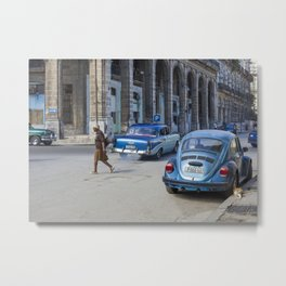 Havana walks Metal Print