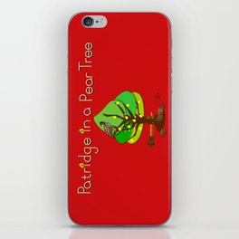 12 Days Of Christmas Nutcracker Theme: Day 1 iPhone Skin