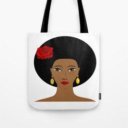 Afro Queen Tote Bag