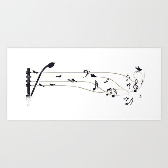 Urban Symphony Art Print