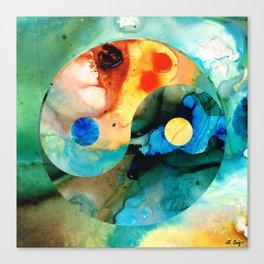 Earth Balance - Yin And Yang Art Canvas Print