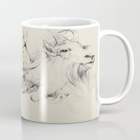 antlers Mugs featuring Antlers by Brian Jarrell