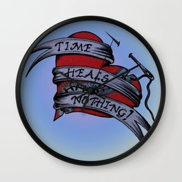 Time Heals Nothing! Wall Clock