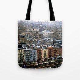 Essex Street, NYC, 1981 Tote Bag