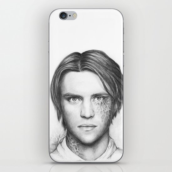 Dr. Chase-House MD-Jesse Spencer-Portrait iPhone & iPod Skin