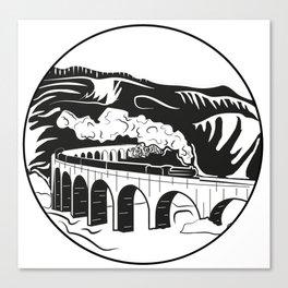 Glenfinnan Viaduct Canvas Print