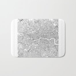 London Map 2 Bath Mat
