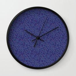 Wormhole Wall Clock