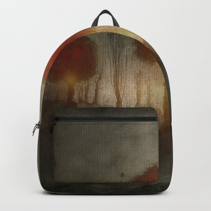 Red Trees Backpack