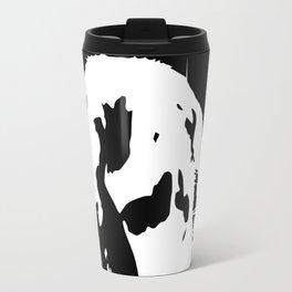 Black & White English Lop Travel Mug