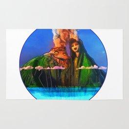 I have a lava dream Rug