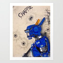chappie Art Print