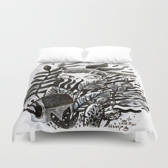 Hidden Place Duvet Cover