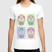 sugar skulls T-shirts featuring Sugar Skulls by TheFinalPiece