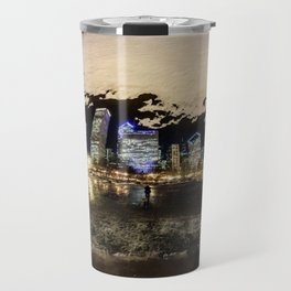 The Chicago Bean (Color) Travel Mug
