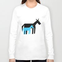 dad Long Sleeve T-shirts featuring Thanks Dad by That's So Unicorny