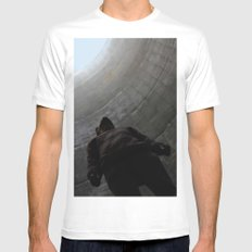 No. 3756 MEDIUM Mens Fitted Tee White