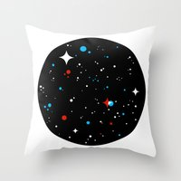 universe Throw Pillows featuring Universe by Terry Mack