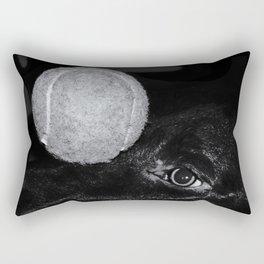 Keep Your Eye On The Ball Rectangular Pillow