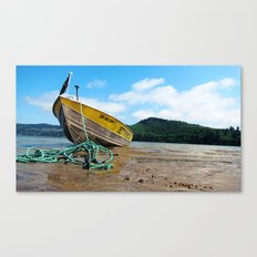 Jetty Boating Canvas Print