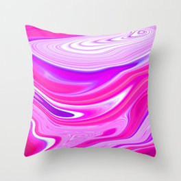 Colorful twisted pattern Throw Pillow