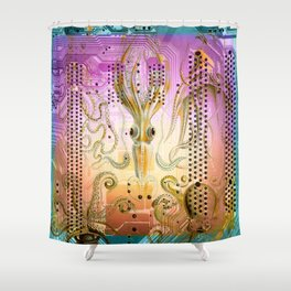 New Sucker on the Circuit Shower Curtain