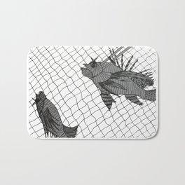 Lionfish Catch Bath Mat