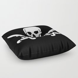 Jolly Roger Pirate Floor Pillow