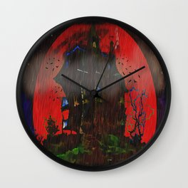 There Was a Crooked House - 055 Wall Clock