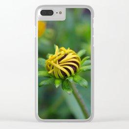 Rudbeckia hirta (horizontal) Clear iPhone Case
