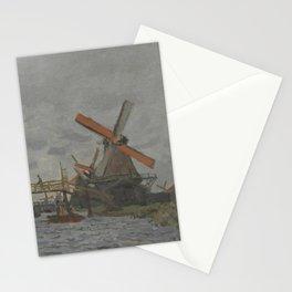 Windmills near Zaandam Stationery Cards