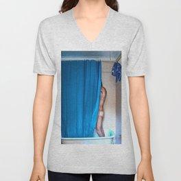 Blue Shower Unisex V-Neck