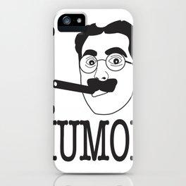 I __ Humor iPhone Case