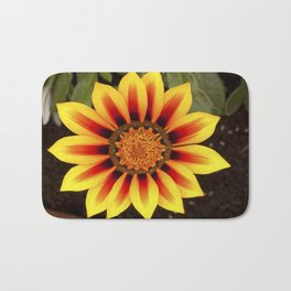 Gazania Flower Bath Mat
