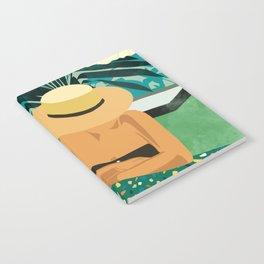 Chill #illustration #travel Notebook