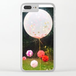 Let's Party Boho Style Clear iPhone Case