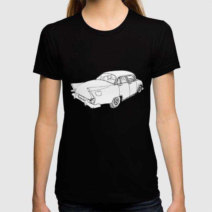 Old Card Cuba T-shirt