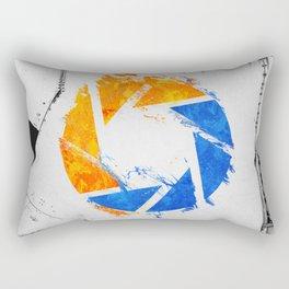 Aperture Vandal Rectangular Pillow