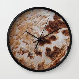 Vintage Gold Filigree Velvet Pillows Wall Clock