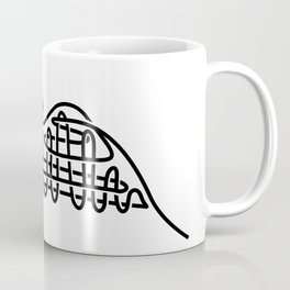 racer express - line rollercoaster Coffee Mug