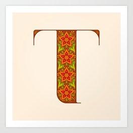 T - Amarilis Art Print