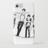 levi iPhone & iPod Cases featuring Squad Levi by PaigeAWArt
