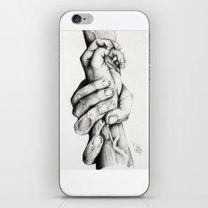 The Saving Hands iPhone & iPod Skin