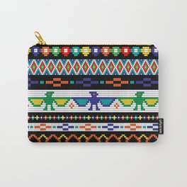 Tribal Beads Carry-All Pouch