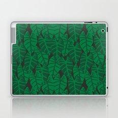 Elephant Ear house plant tropical garden green minimal pattern Laptop & iPad Skin