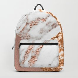 Layers of rose gold Backpack